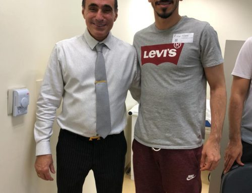 Atleta árabe realiza cirurgia no Instituto do Joelho HCor