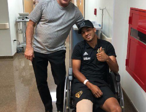 Rojas passa por cirurgia no Instituto do Joelho HCor