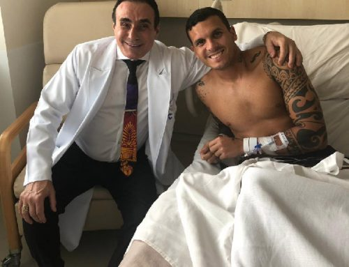 Ramon, do Vasco da Gama, passa por cirurgia no Instituto do Joelho HCor